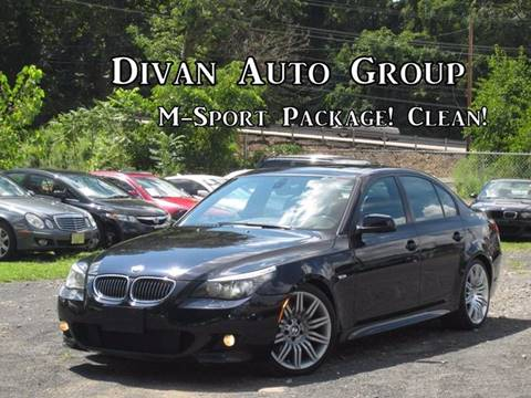 2010 BMW 5 Series for sale at Divan Auto Group in Feasterville PA