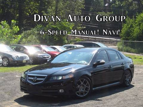 Acura Used Cars For Sale Feasterville Divan Auto Group - Acura tl 6 speed for sale