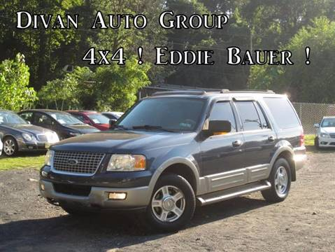 2003 Ford Expedition for sale at Divan Auto Group in Feasterville PA