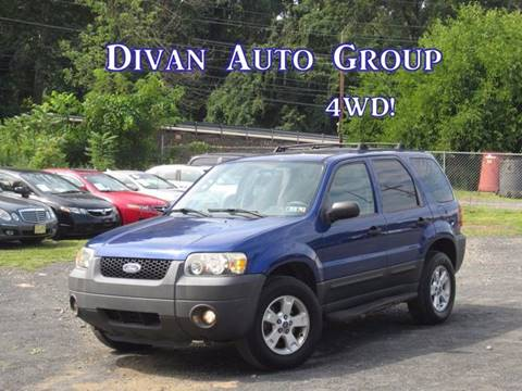 2005 Ford Escape for sale at Divan Auto Group in Feasterville PA
