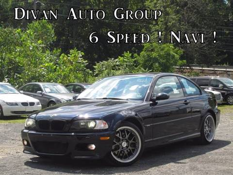 2003 BMW M3 for sale at Divan Auto Group in Feasterville PA