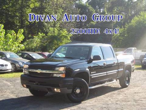 2006 Chevrolet Silverado 2500HD for sale at Divan Auto Group in Feasterville PA