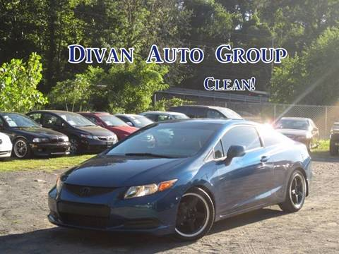 2012 Honda Civic for sale at Divan Auto Group in Feasterville PA
