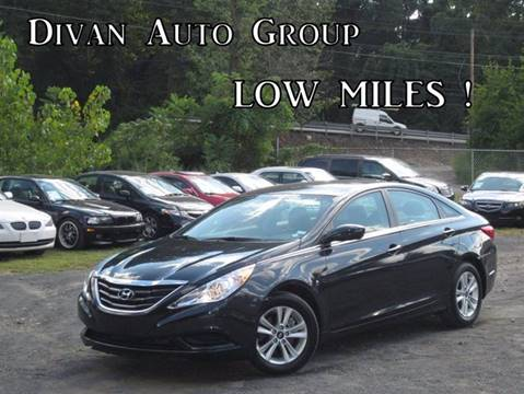 2013 Hyundai Sonata for sale at Divan Auto Group in Feasterville PA