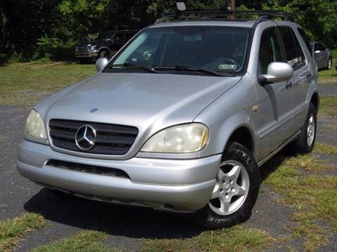 2001 Mercedes-Benz M-Class for sale at Divan Auto Group in Feasterville Trevose PA