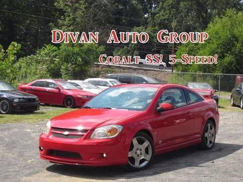 2006 Chevrolet Cobalt for sale at Divan Auto Group in Feasterville PA