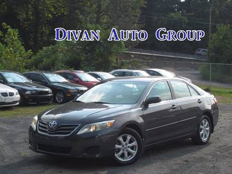 2011 Toyota Camry for sale at Divan Auto Group in Feasterville Trevose PA