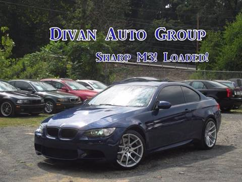 2009 BMW M3 for sale at Divan Auto Group in Feasterville PA