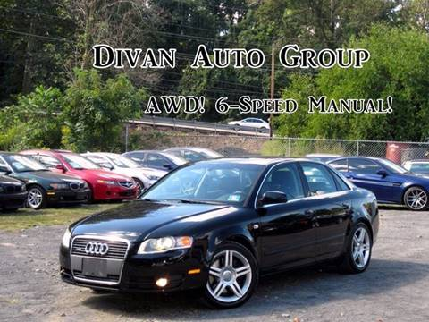 2006 Audi A4 for sale at Divan Auto Group in Feasterville PA