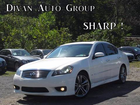 2008 Infiniti M35 for sale at Divan Auto Group in Feasterville PA