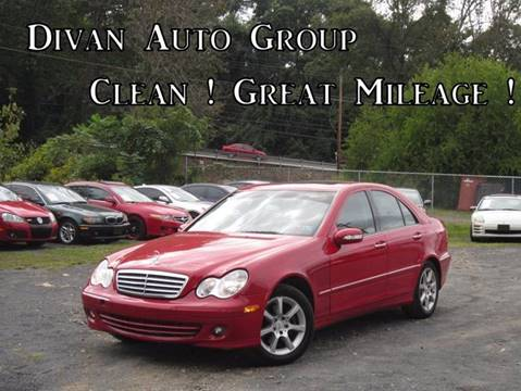 2007 Mercedes-Benz C-Class for sale at Divan Auto Group in Feasterville PA