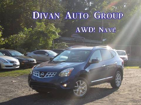 2011 Nissan Rogue for sale at Divan Auto Group in Feasterville PA