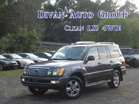 2006 Lexus LX 470 for sale at Divan Auto Group in Feasterville PA