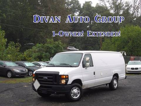 2012 Ford E-350 for sale at Divan Auto Group in Feasterville Trevose PA