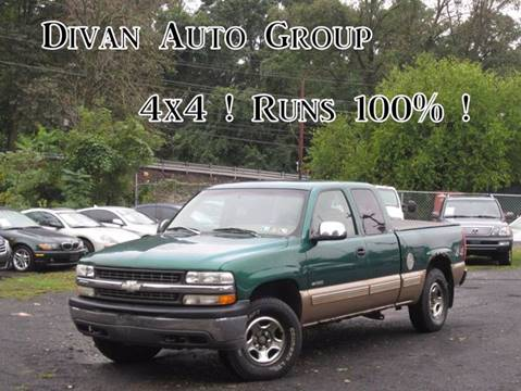 1999 Chevrolet Silverado 1500 for sale at Divan Auto Group in Feasterville PA