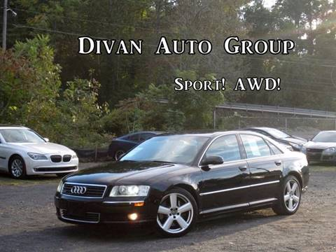 2005 Audi A8 for sale at Divan Auto Group in Feasterville Trevose PA