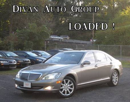 2007 Mercedes-Benz S-Class for sale at Divan Auto Group in Feasterville PA