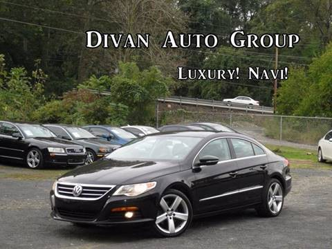 2012 Volkswagen CC for sale at Divan Auto Group in Feasterville PA