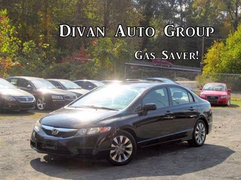 2011 Honda Civic for sale at Divan Auto Group in Feasterville PA