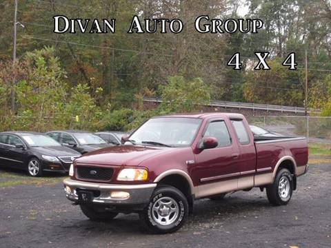 1997 Ford F-150 for sale at Divan Auto Group in Feasterville PA