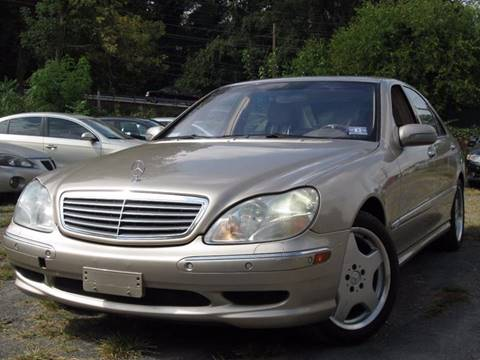 2001 Mercedes-Benz S-Class for sale at Divan Auto Group in Feasterville PA