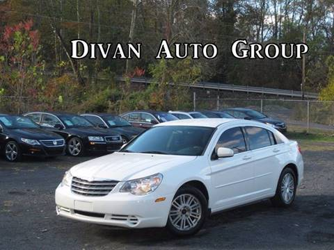 2007 Chrysler Sebring for sale at Divan Auto Group in Feasterville PA