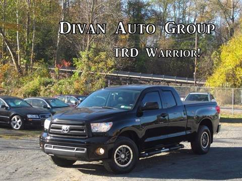 2010 Toyota Tundra for sale at Divan Auto Group in Feasterville PA