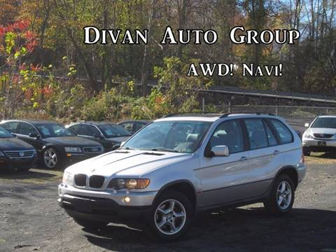 2003 BMW X5 for sale at Divan Auto Group in Feasterville PA