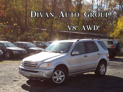 2002 Mercedes-Benz M-Class for sale at Divan Auto Group in Feasterville Trevose PA