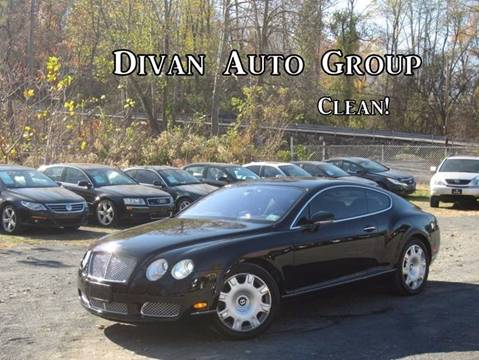 2005 Bentley Continental GT for sale at Divan Auto Group in Feasterville PA