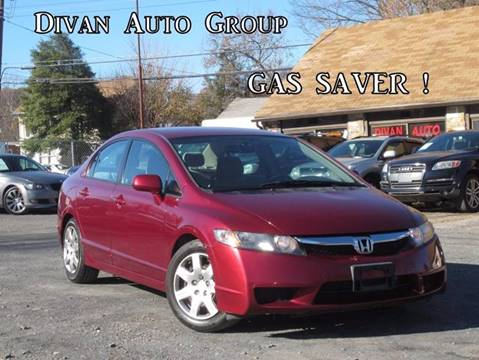 2009 Honda Civic for sale at Divan Auto Group in Feasterville PA