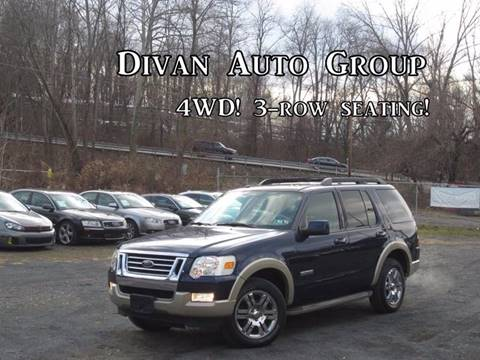 2008 Ford Explorer for sale at Divan Auto Group in Feasterville PA