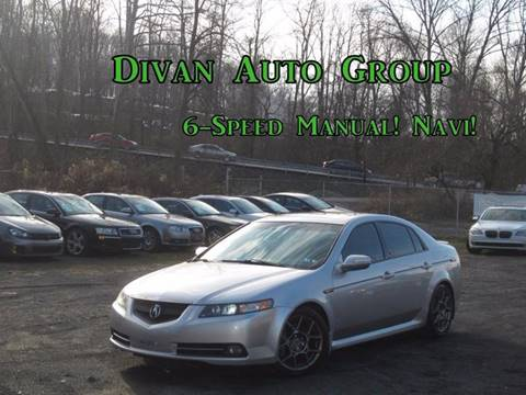 2007 Acura TL for sale at Divan Auto Group in Feasterville PA