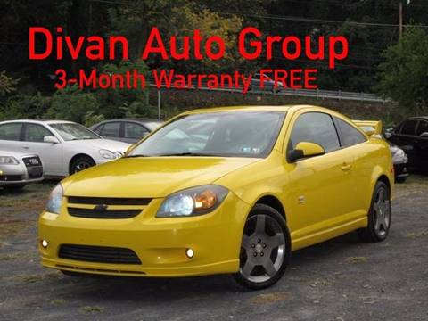 2005 Chevrolet Cobalt for sale at Divan Auto Group in Feasterville PA