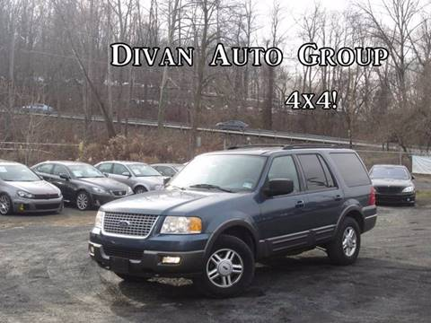 2004 Ford Expedition for sale at Divan Auto Group in Feasterville PA