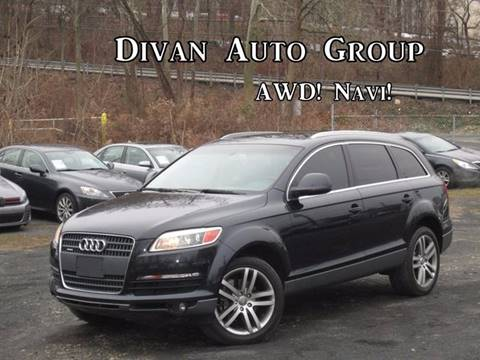 2007 Audi Q7 for sale at Divan Auto Group in Feasterville Trevose PA