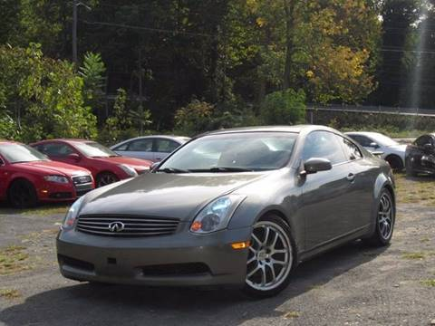 2005 Infiniti G35 for sale at Divan Auto Group in Feasterville PA