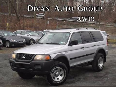 2003 Mitsubishi Montero Sport for sale at Divan Auto Group in Feasterville PA