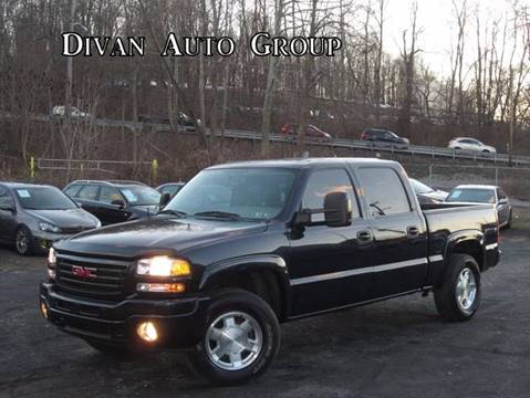 2004 GMC Sierra 1500 for sale at Divan Auto Group in Feasterville PA