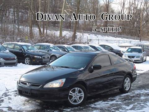 2006 Honda Accord for sale at Divan Auto Group in Feasterville PA