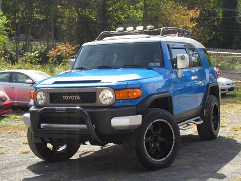 2007 Toyota FJ Cruiser for sale at Divan Auto Group in Feasterville Trevose PA