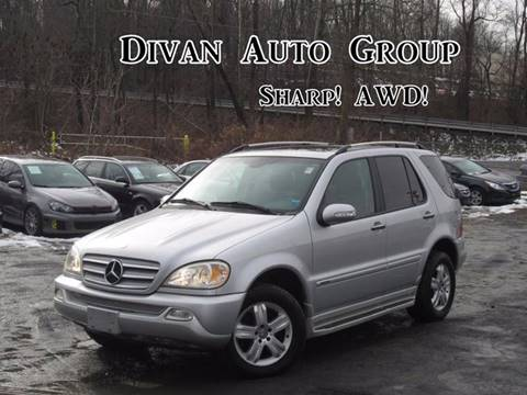 2005 Mercedes-Benz M-Class for sale at Divan Auto Group in Feasterville Trevose PA