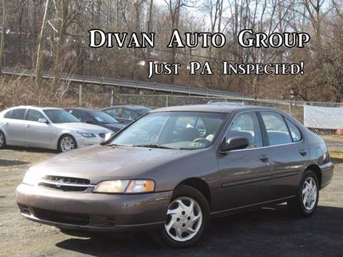 1998 Nissan Altima for sale at Divan Auto Group in Feasterville PA
