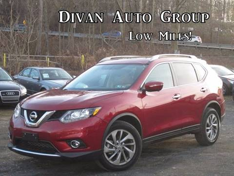 2015 Nissan Rogue for sale at Divan Auto Group in Feasterville PA