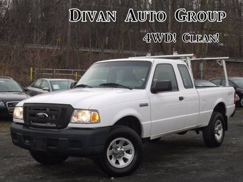 2007 Ford Ranger for sale at Divan Auto Group in Feasterville Trevose PA