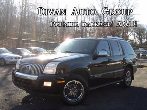2008 Mercury Mountaineer for sale at Divan Auto Group in Feasterville PA