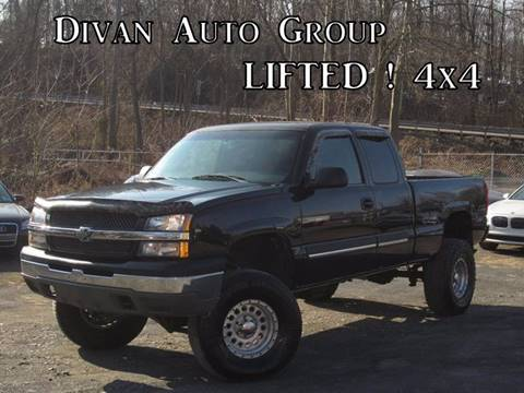 2003 Chevrolet Silverado 1500 for sale at Divan Auto Group in Feasterville PA