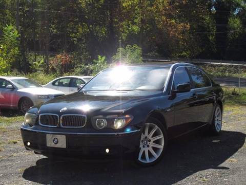 2002 BMW 7 Series for sale at Divan Auto Group in Feasterville PA