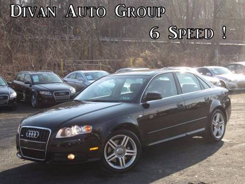 2008 Audi A4 for sale at Divan Auto Group in Feasterville PA