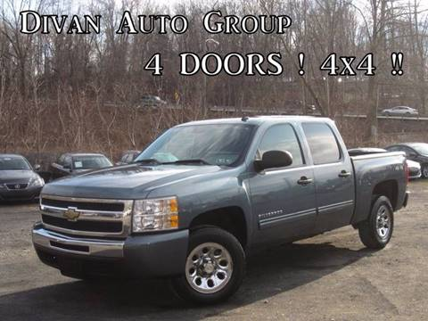 2009 Chevrolet Silverado 1500 for sale at Divan Auto Group in Feasterville PA